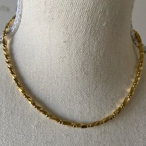Napier gold plated necklace